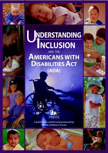 Understanding Inclusion Booklet - Florida Directory of Early ...