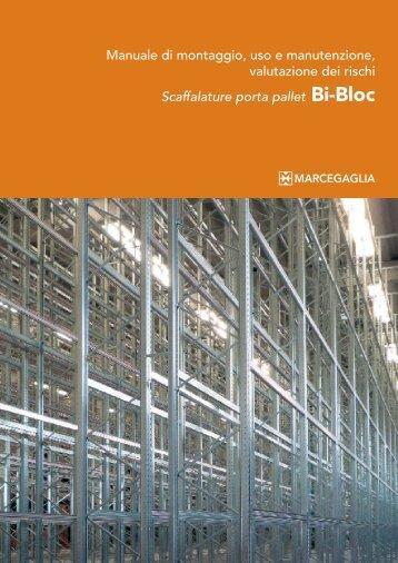 Scaffalature porta pallet Bi-Bloc - Marcegaglia