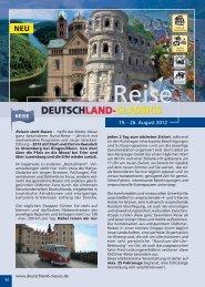 19. - 26. August 2012 - Deutschland-Classics