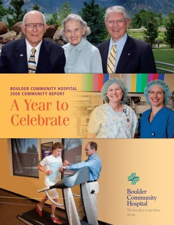 A Year to Celebrate - Boulder Community Hospital