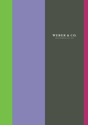 Weber & Co.