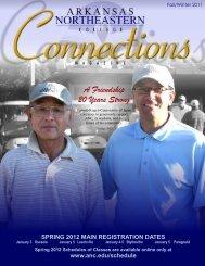 Connections Magazine - Arkansas Northeastern College