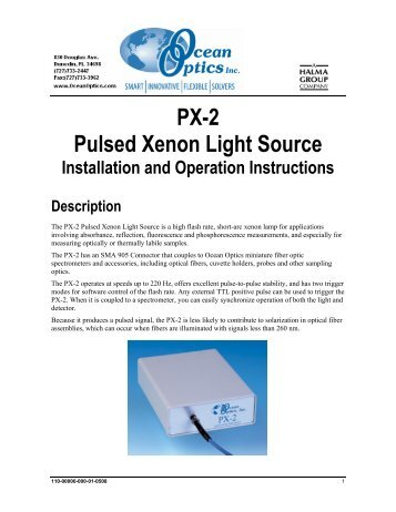 PX-2 Operator Manual - Qas-inc.com