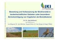 Bewertung und Verbesserung der Biodiversität in - DO-G