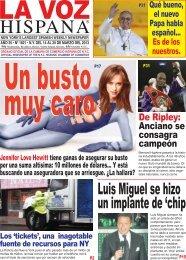 Luis Miguel se hizo un implante de 'chip - La Voz Hispana NY