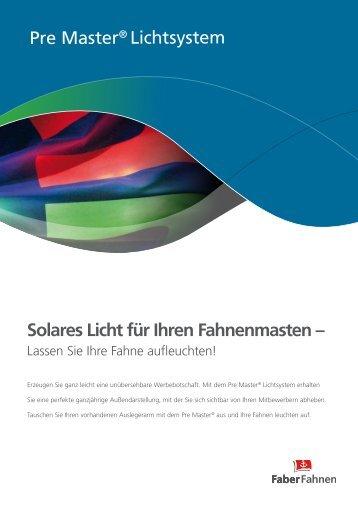 PreMaster - Faber Fahnen GmbH