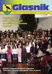 Glasnik januar - februar2009 - Občina Škofljica