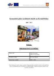 Komunitní plán sociálních služeb - příloha - Město Kroměříž