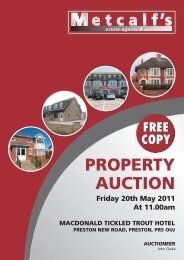 METCALFS AUCTION BOOKLET - MAY 11 - Metcalf Estate Agents