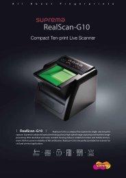 ReanScan G10 ENG - Suprema