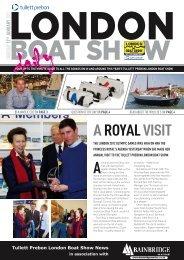 A ROYAL VISIT - London Boat Show
