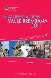 Libretto manifestazioni estive anno 2013 - Comunità Montana Valle ...