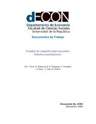 Documentos de Trabajo Estudios de competitividad sectoriales ...