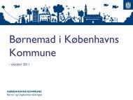 Børnemad i Københavns Kommune - Københavns Madhus