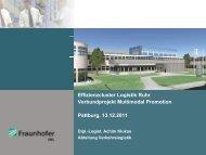 Effizienzcluster Rhein Ruhr - CB-Log