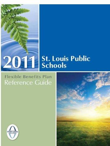 Benefit Reference Guide - St. Louis Public Schools