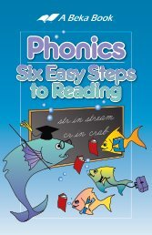 ABB Phonics Six Easy Steps to Reading 09 - A Beka Book