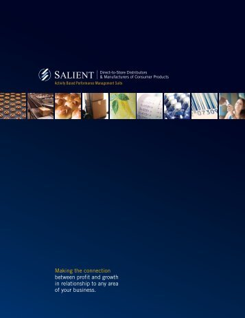 Manufacturers of Consumer Products - Salient