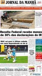 04/13 - Jornal da Manhã