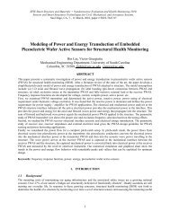 Modeling of Power and Energy Transduction of Embedded ...