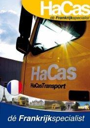 Bedrijfsbrochure HaCas Transport bv - Evo