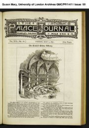 The Palace Journal - Library - Queen Mary, University of London
