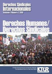 Derechos humanos - International Centre for Trade Union Rights