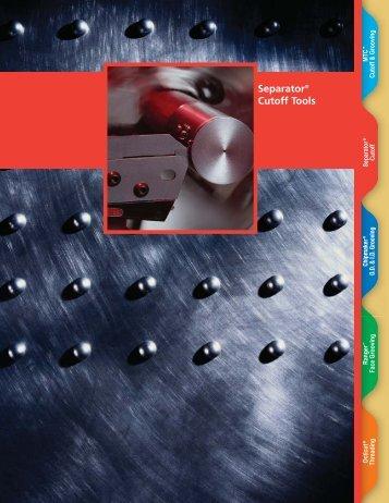 Separator® Cutoff Tools
