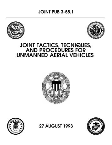 JP 3-55.1 JTTP for Unmanned Aerial Vehicles - BITS