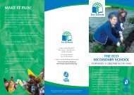 Eco schools leaflet.indd - Education Resource Service