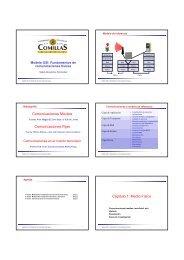Comunicaciones Móviles Comunicaciones Fijas Cápitulo 1: Medio ...