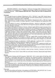 POR Campania FESR 2007-2013 - Rete Pari Opportunita