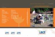 ACTIVITES GENERATRICES DE REVENUS - Action Against Hunger