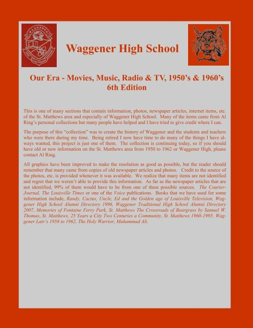 Our Era Movies Music Radio And Tv 6th Edition