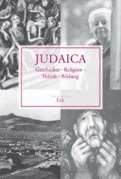 Judaica - LIT Verlag