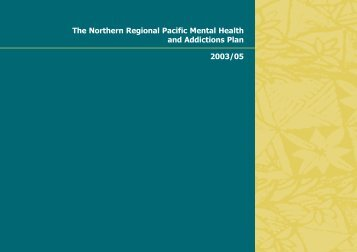 The Northern Regional Pacific Mental Health and ... - Network North
