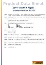 Corro-Coat PE-F Series 1301, 1303, 1307 and 1308 - Jotun
