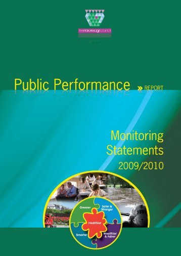 Public Performance Report Monitoring Statements 2009-10 - Moray ...