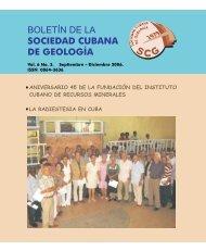 Volumen 6 No.3 año 2006 - Red Cubana de la Ciencia