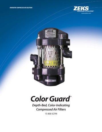 Color Guard™ Filter Catalog - ZEKS Compressed Air Solutions