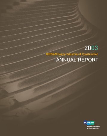 ANNUAL REPORT - Doosan