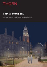 Clan & Plurio LED - THORN Lighting