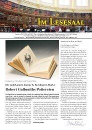 Im Lesesaal 2013-07.pdf - Elster Verlag