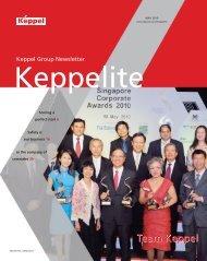May 2010 - Keppel Corporation