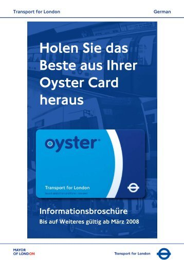 Oyster Card - Bed and Breakfast