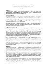 Condizioni Generali di Vendita e Fornitura di pewag italia s.r.l.
