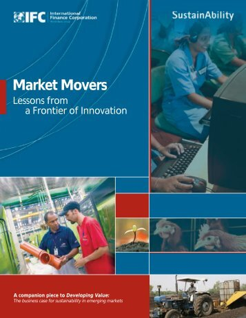 Market Movers: Lessons from a Frontier of Innovation - IFC