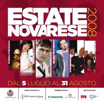 Libretto completo della manifestazione - Comune di Novara