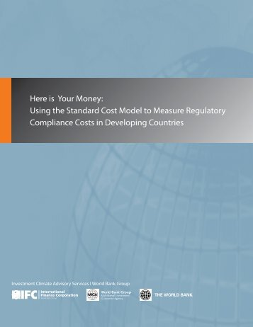 Using the Standard Cost Model to Measure Regulatory Compliance ...