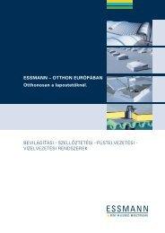 Euro brosúra - Essmann.hu